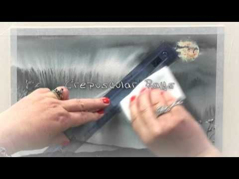 DVD - Enchanting Painting Effects with the Magic Watercolour Sponge Eraser with Sharon Hurst - YouTube