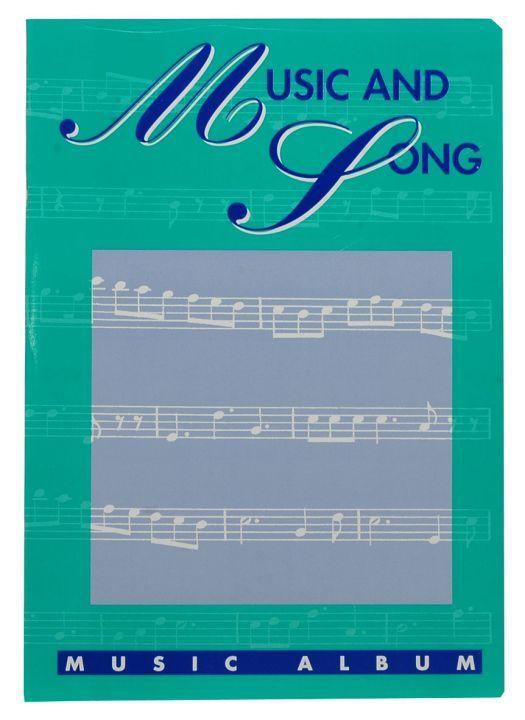 MAXI MUSICA 16FF 10110 Maxi musica quaderno pentagrammato 21x29,7, pagine 32.