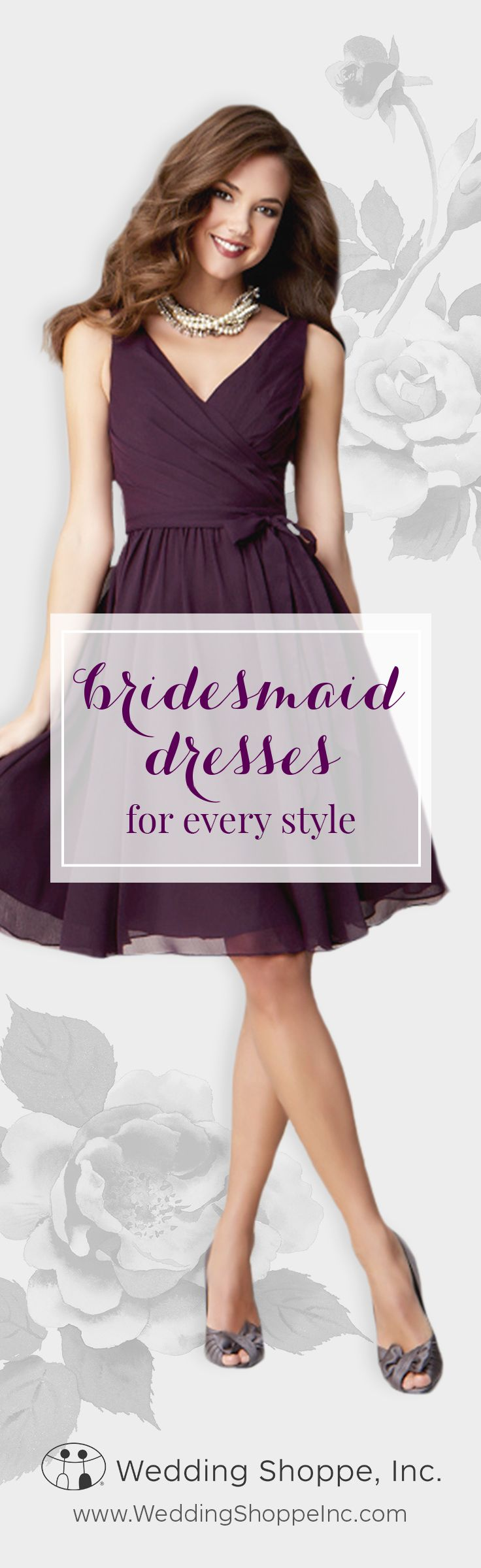 Your favorite styles for the lowest prices. Shop bridesmaid dresses from the Wedding Shoppe and complete your look!