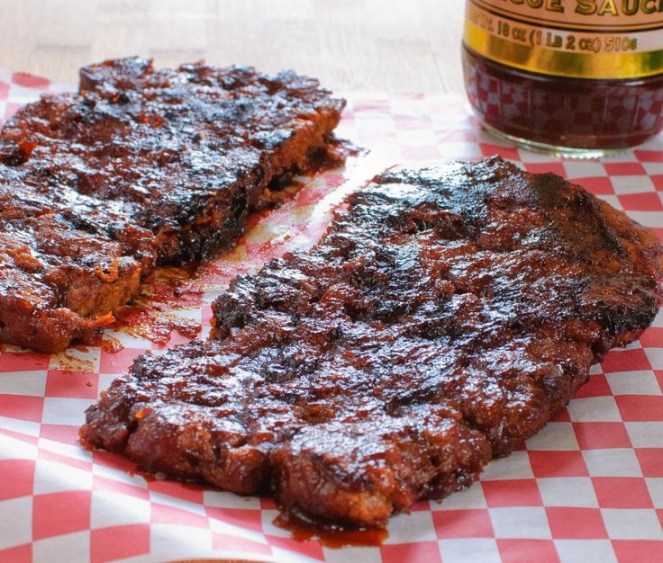 Vegan Barbecue Ribs (add 1.5 tsp spices per recipe if not using vegetable broth)