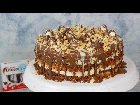 Kinder Choco Fresh Torte - Haselnuss Torte - YouTube