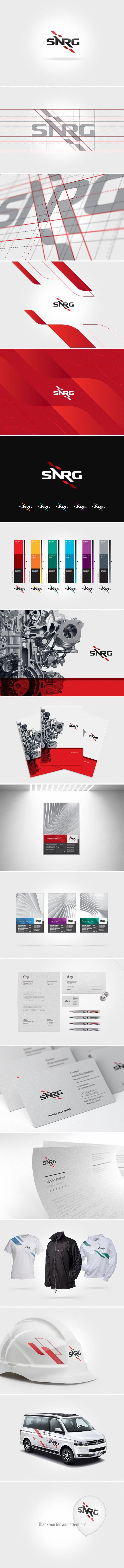 Identity / SNRG by Denis Ulyanov, via Behance #logodesign #logo #logotype #design #branding…
