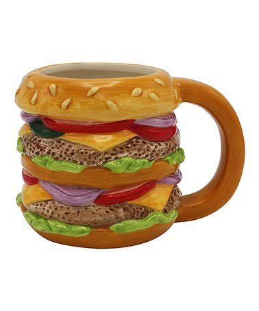 This Hamburger Mug is perfect! #zulilyfinds