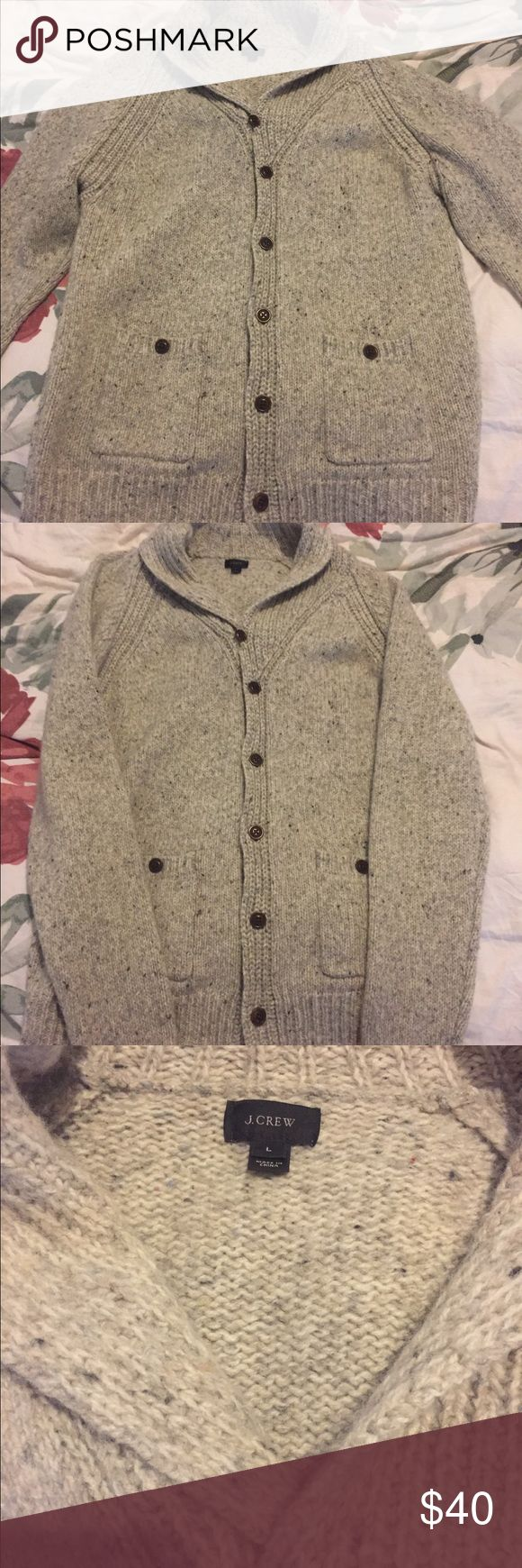 Men's JCREW Grandpa Sweater Men's Grandpa Sweater! Excellent condition! Never worn! Size large! Great for fall :) jcrew Sweaters Cardigans