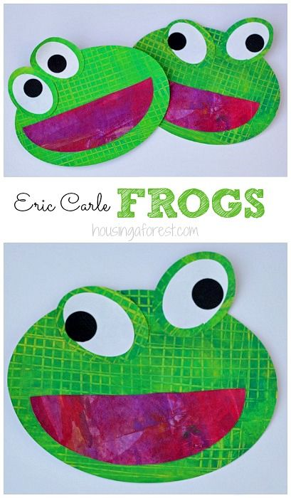Best 25 frog art ideas on pinterest for Frog crafts for preschoolers