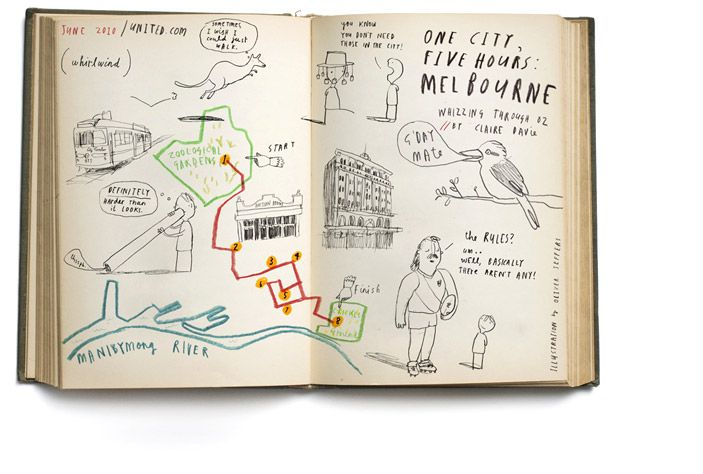 Melbourne  by Oliver Jeffers