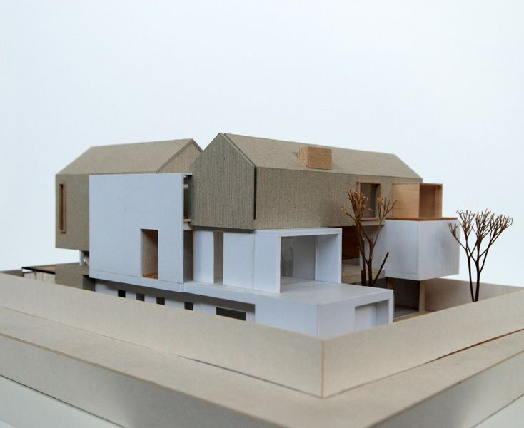546 best images about models on pinterest le corbusier for Famous minimalist buildings