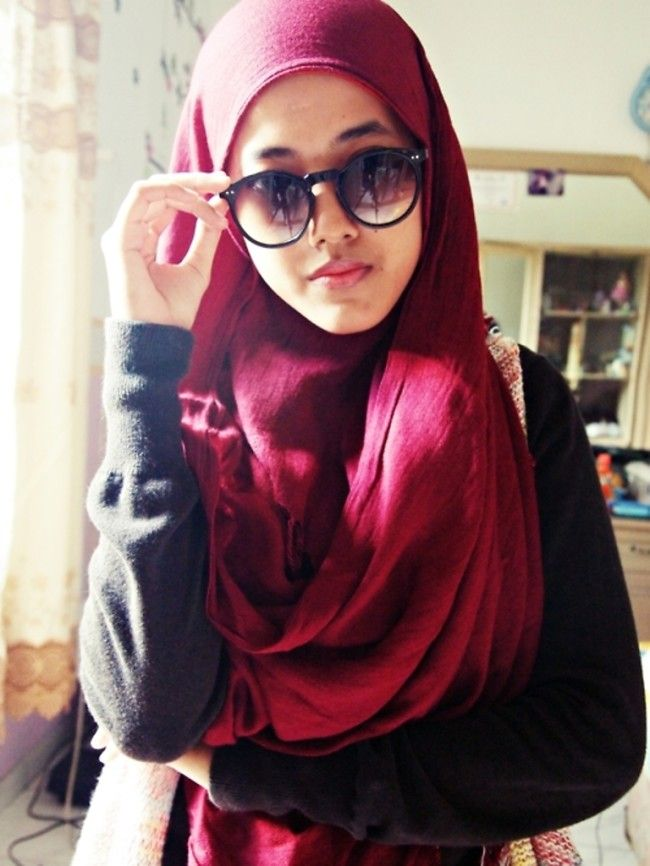 Hijab Styels with Glasses this Summer tumblr