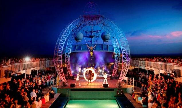 5 best stage shows on #cruise ships...