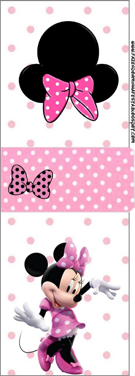 100 besten Minnie Mouse Bilder auf Pinterest | Druckvorlagen ...