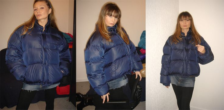Naf Naf puffy jacket down jackets pictures | Photos and Images | Fashion