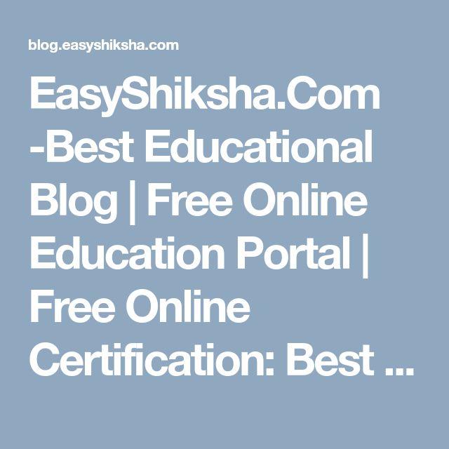 EasyShiksha.Com -Best Educational Blog | Free Online Education Portal | Free Online Certification: Best Engineering (B Tech) Colleges in Jaipur Rajasthan