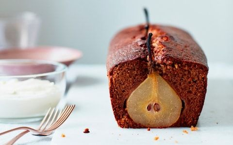 Loaf cake recipes: persimmons and pears make for a satisfying slice
