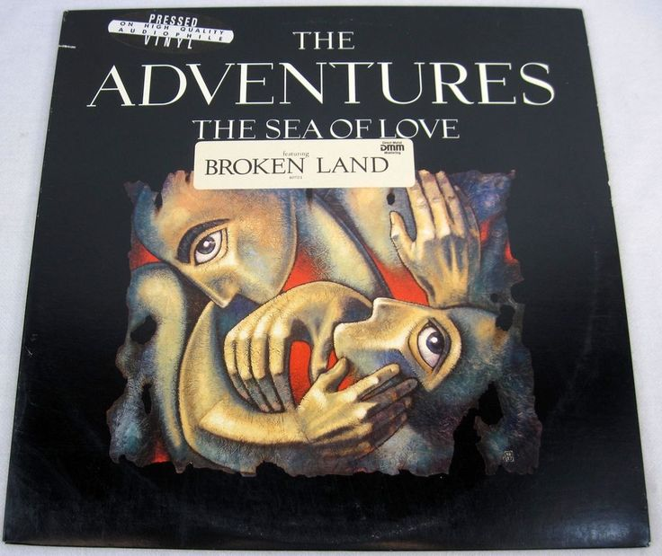 The Adventures 1988 The Sea Of Love Promo Vinyl LP Album AudioPhile Music RARE #PopRock1980s
