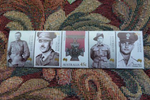 Australia 1861 MNH Military Medals, Victoria Cross Winners | eBay