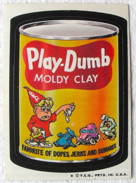 ART SKOOL DAMAGE : Christian Montone: 1974 Wacky Packages Stickers (6th Series)