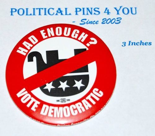 Barack Obama Pin Pinback Button Badge Political Presidential Election 2008 | eBay