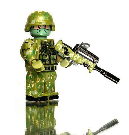 Lego modern combat solder!                                                                                                                                                                                 More
