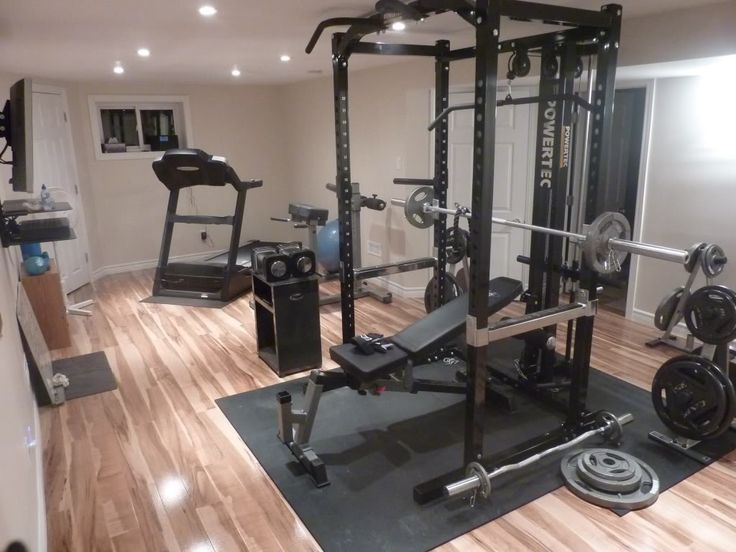 Best Gym Images On Pinterest Home Gyms Basement Gym And - Small home gyms
