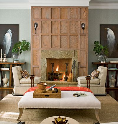 1000 images about fireplaces on pinterest limestone for Fireplace no mantle
