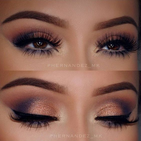 glam makeup 14