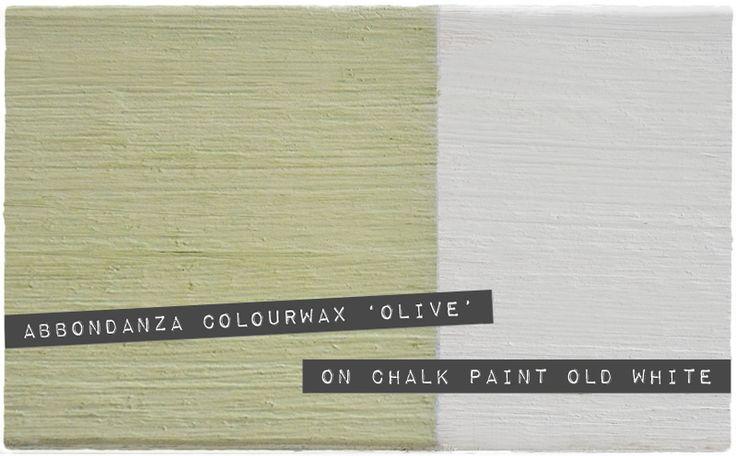 Abbondanza Colourwax 'Olive'