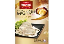 Filet mignon, sauce aux Cèpes : Gamme saisonnière   Bigard