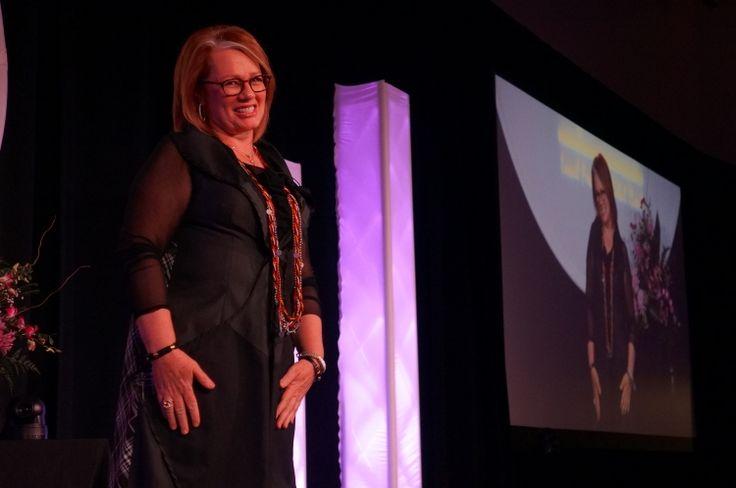 Arlene Dickinson at the Winkler Chamber Awards Gala.