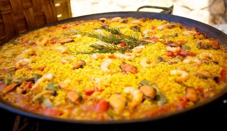 la ricetta paella mixta, piatto della cucina spagnola