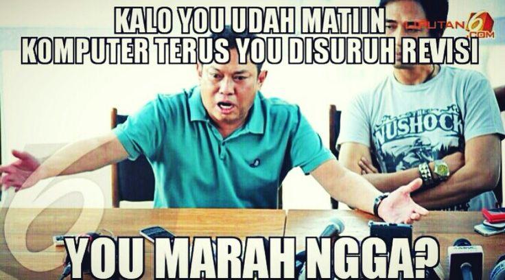 Belum sempet upload sampe sekarang, meme Adiguna Soetowo :))