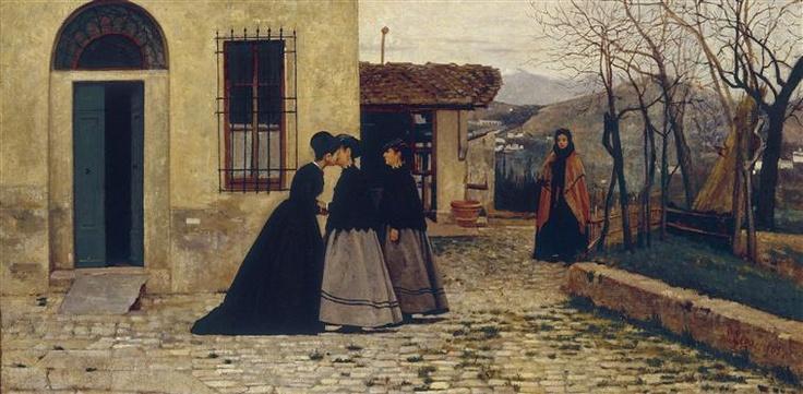 Silvestro Lega - The Visit