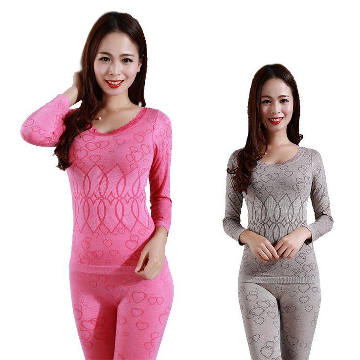 Mujeres seamless underwear térmica ropa térmica de invierno modelo caliente mujeres long johns mujer underwear body de manga larga