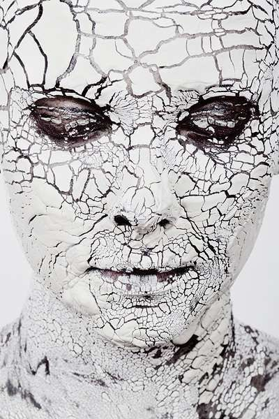Daniel Regan typeB | Clay Mask | white makeup | design milk