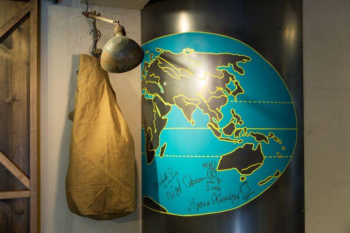 Nigel Cabourn flagship store, Tokyo – Japan » Retail Design Blog