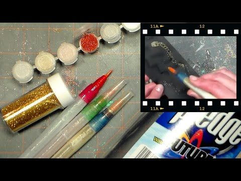 Faux Winks! {Make your own glitter and shimmer pens!} | Thefrugalcrafter's Weblog Faux wink of stella pens
