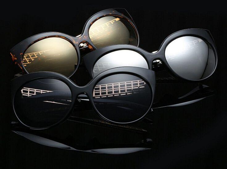 Modo juli donna occhiali da sole classic linda occhio di gatto del progettista di marca oro hollow struttura del piedino retro occhiali gafas de sol LFL388C in da Occhiali da sole su AliExpress.com   Gruppo Alibaba
