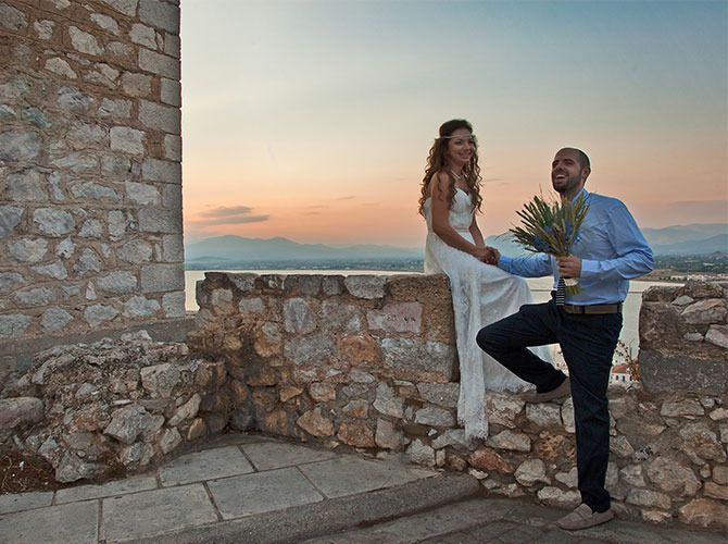 Nikos & Elena, Civil Wedding in Nafplio.