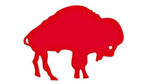 The Monochrome Logo Of Buffalo Bills Had To Serve As The Official Sign Of The Historical Logo American Sports Logos