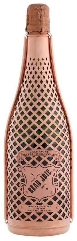 champagne beau joie #packaging