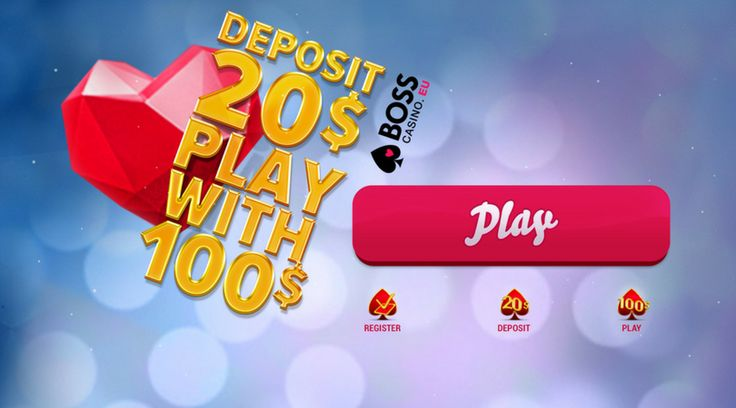 Hurry up and register! We are offering you to join our fabulous promotion!! To get its nice prize you just need to make one deposit. *Minimum deposit amount: €20  **For new players only ***For further information on bonus receiving conditions, see bonuses Terms and Conditions. Good luck, everyone!