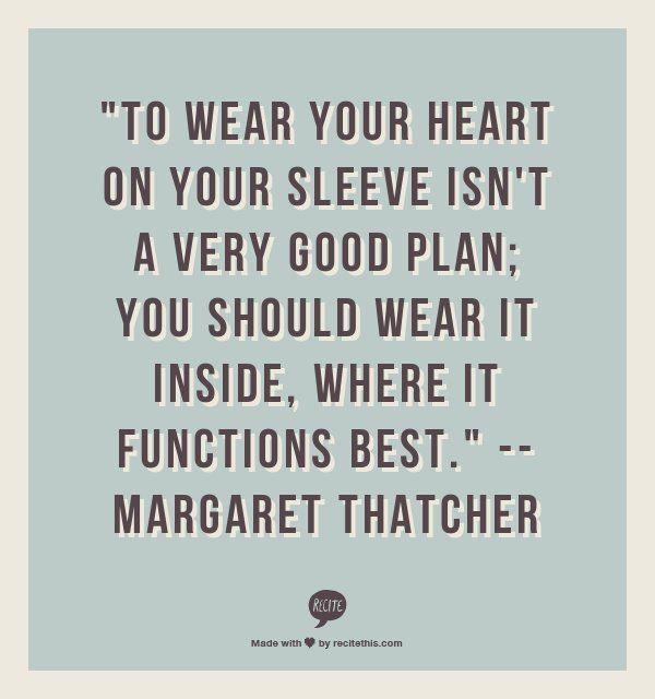 Margaret Thatcher On Women