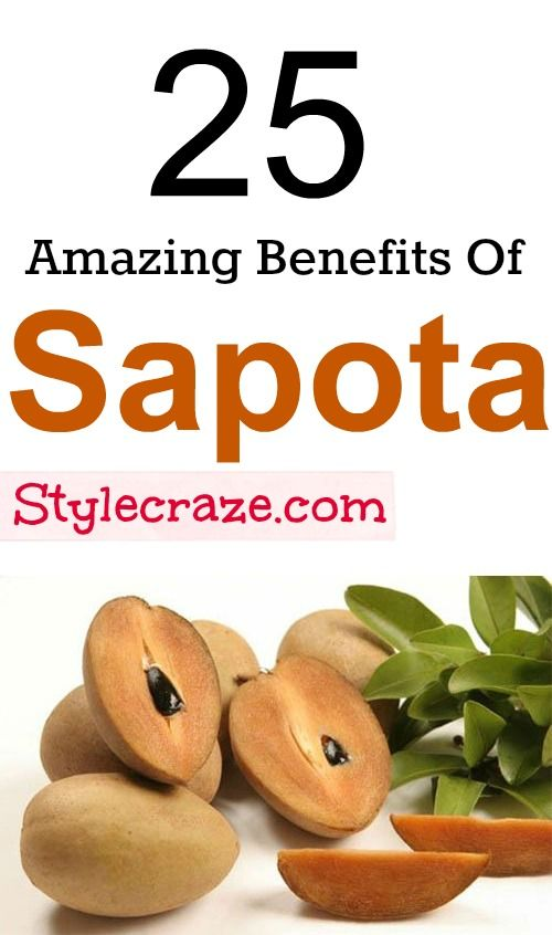 25 Amazing Benefits and Uses Of Sapota (Chikoo) For Skin, Hair And Health