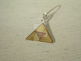 Zelda Triforce Pendent by LadySeshiiria Cecily Rochelle Rowley