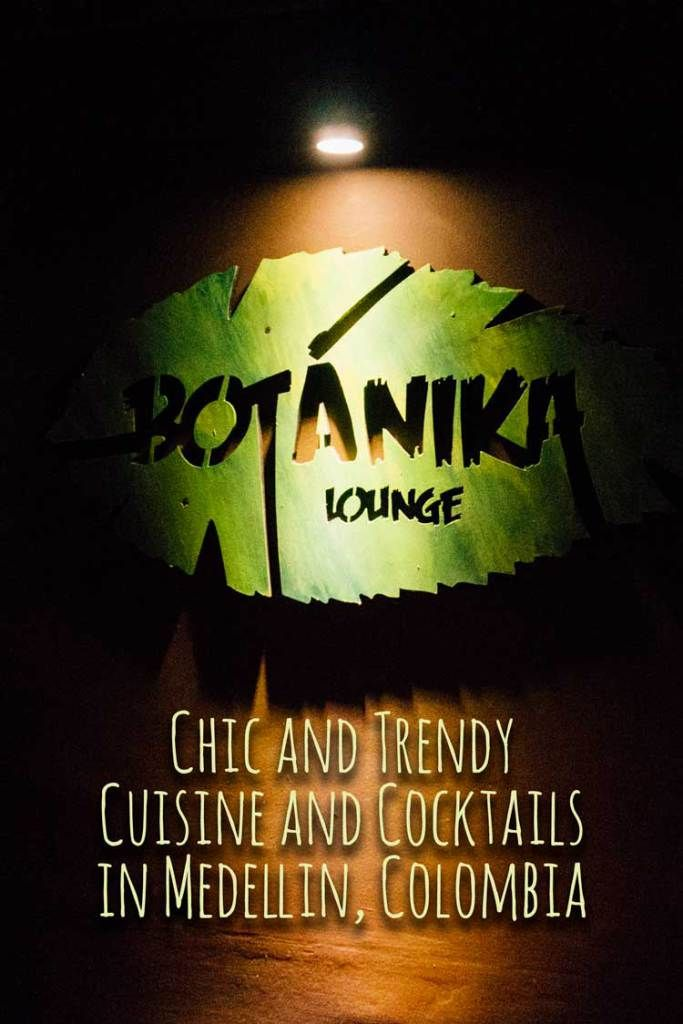 Check out this new chic and trendy establishment in Medellin, Colombia, Botanika Lounge - www.colombianlifestyle.com