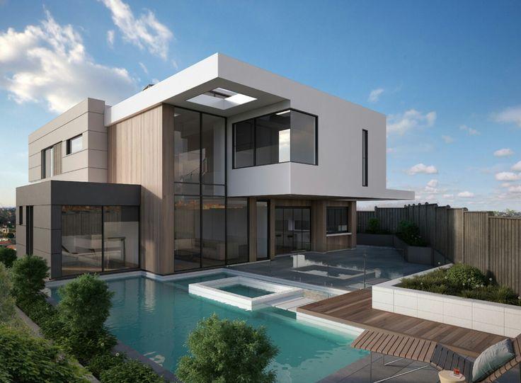 Moderne häuser innen und außen  21 besten EFH Architekten Bilder auf Pinterest | Architekten ...