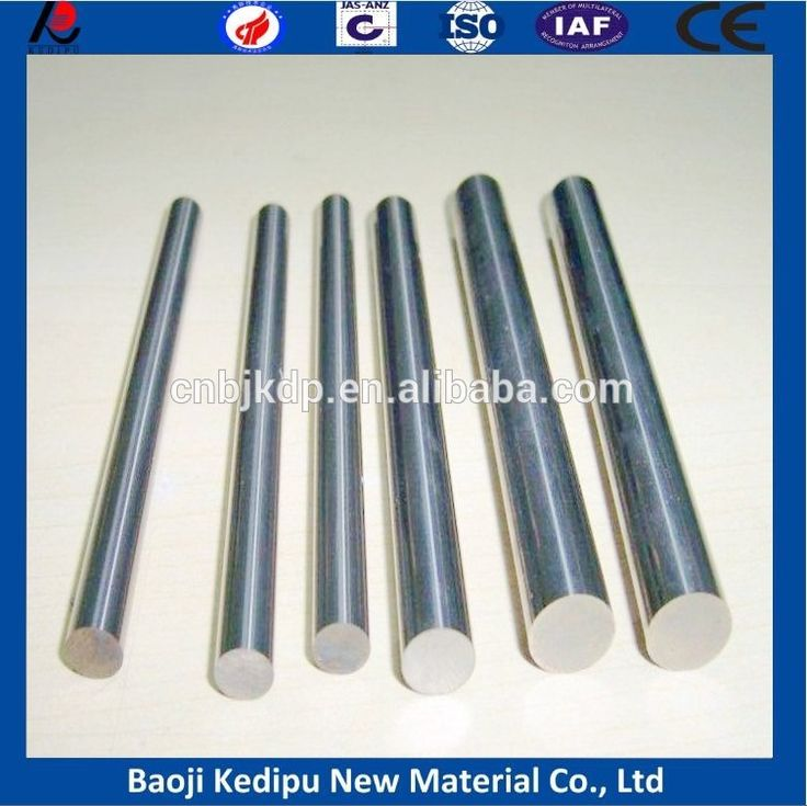 99.99.95% Wolfram Tungsten Rod Tungsten Tig Rod/bar For Welding In Best Price