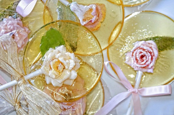 Lemon Cakes Flower Resin