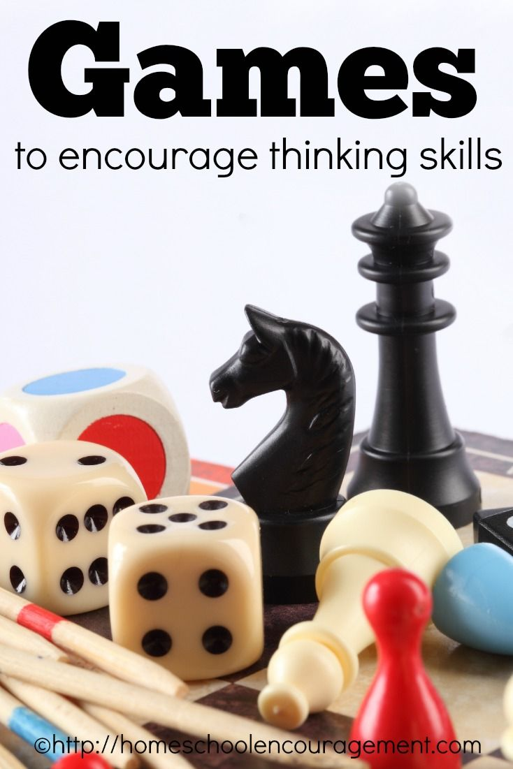 encourage critical thinking skills Critical thinking skills help people to develop a positive attitude toward learning there are many popular games which encourage critical thought well, games like sudoku require good focus and critical thinking.