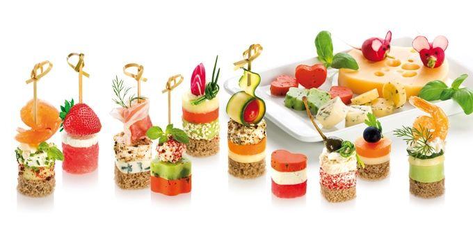 Foremki do przekąsek PRESTO Foodstyle, 4 kształty | Markowy e-shop TESCOMA