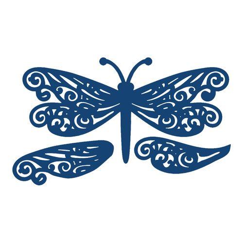 #DragonflyDie - #TatteredLace (TTL/D006) $26.00